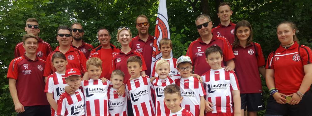 CSC-Sportler gratulieren Gersthofen zum Stadtjubiläum